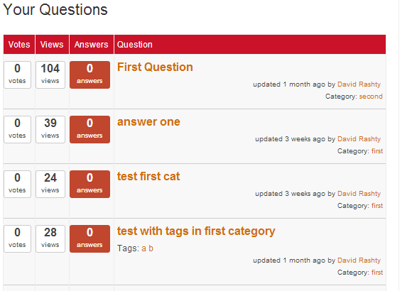 How to moderate inquiries and comments in your WP question list of your Q&A discussion forum.
